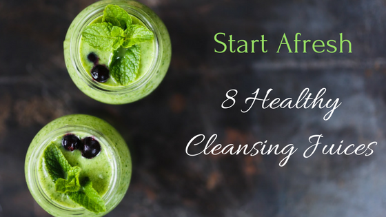 8 Cleansing Juices To Help Balance Your Body